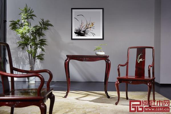 泰和园当代君子系列《兰花椅》