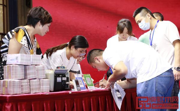 中信红木2020年招商大会得到了经销商的热烈响应