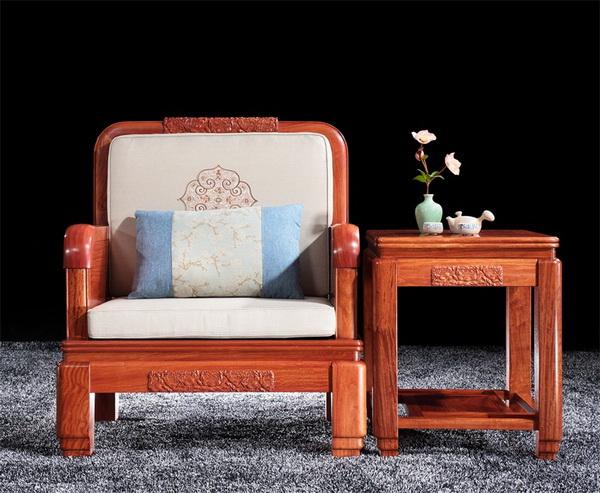 紫福堂新古典家具——富贵祥和沙发