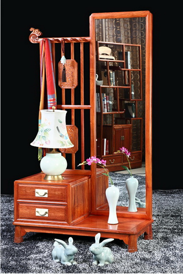 紫福堂新古典家具——王者风范穿衣镜