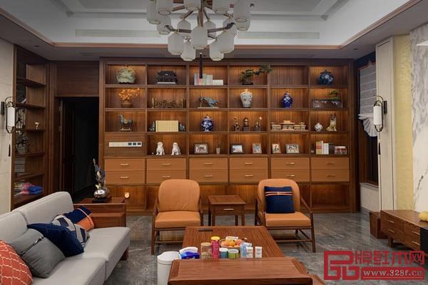 结合传统文化和时尚设计,双洋红木中式家居更显韵味