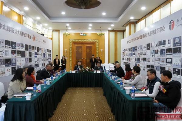 """第十二届""""红古轩杯""""新中式家具设计大赛专家评审会举行"""