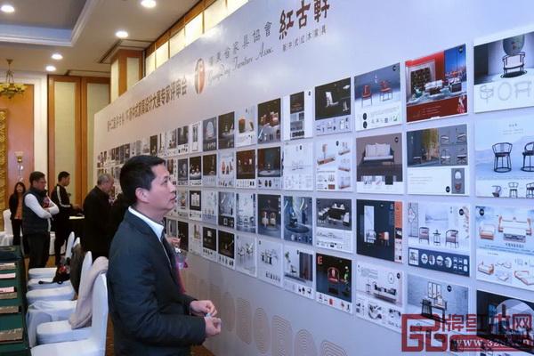 红古轩品牌创始人吴赤宇在评审中