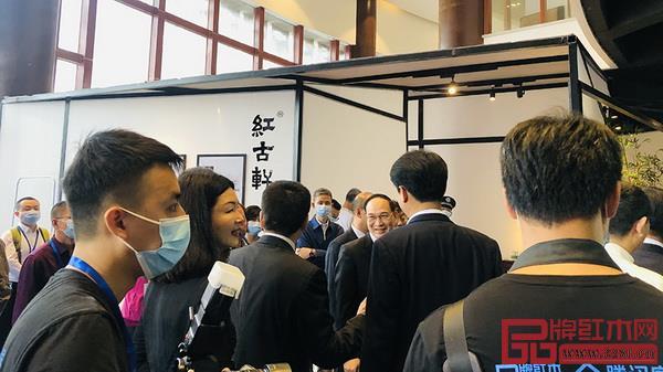 红古轩参加2021中山红博会