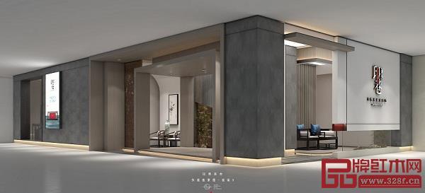 印巷茶舍新展厅空间效果图