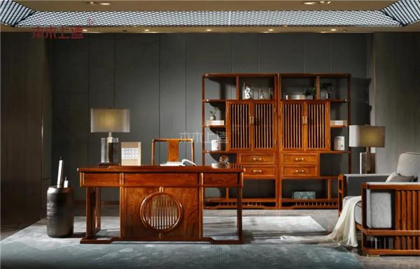 聊雄业好物 | 你的书房还缺一张这样的红木书桌